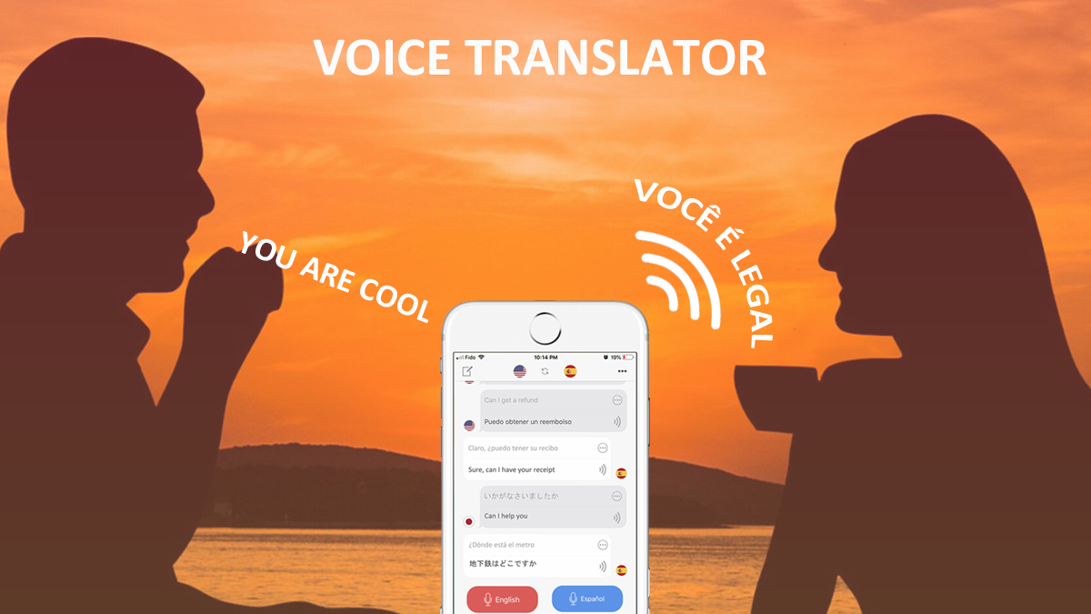 Voice Translator app